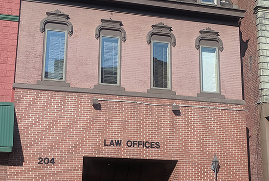 Photo of the Front of the Law Office